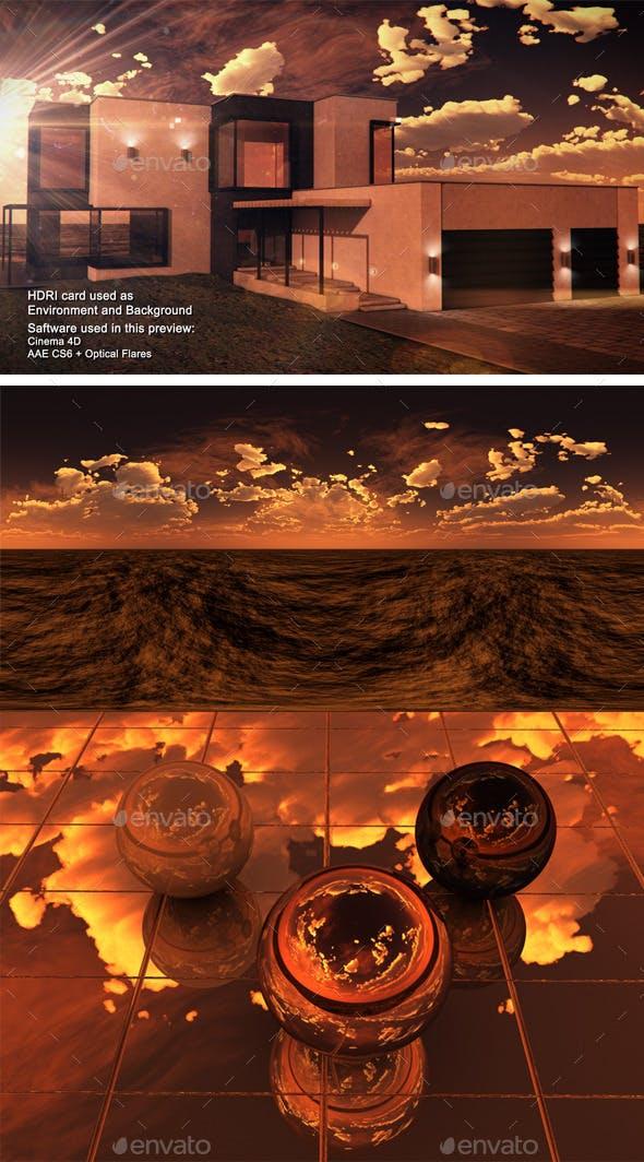 Sunset Desert 20 - 3DOcean Item for Sale