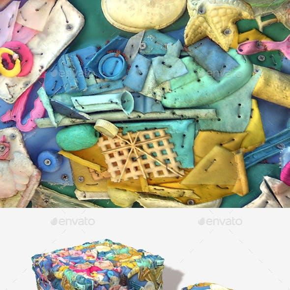 Plastic Junk Seamless Texture
