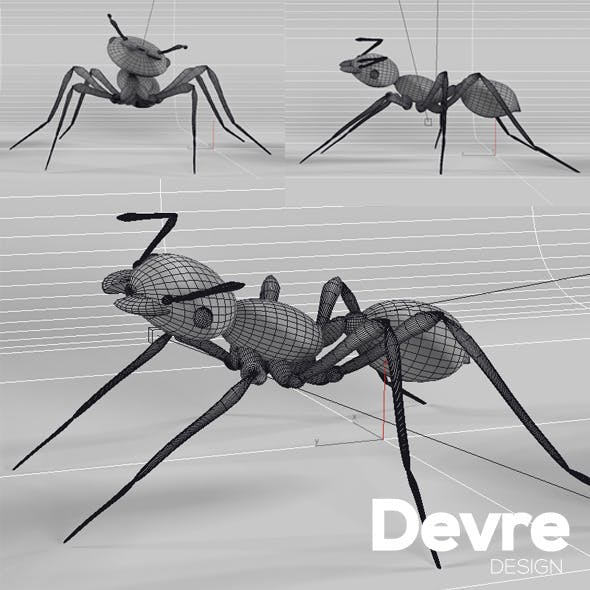 Ant Low Poly