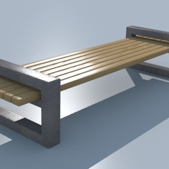 Bench_wooden