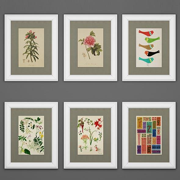 Bispgarden frames - 3DOcean Item for Sale