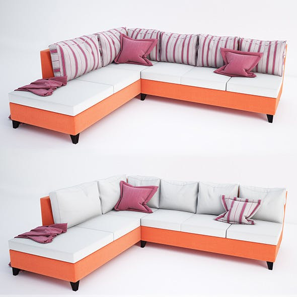 Sofa collection 03 - 3DOcean Item for Sale