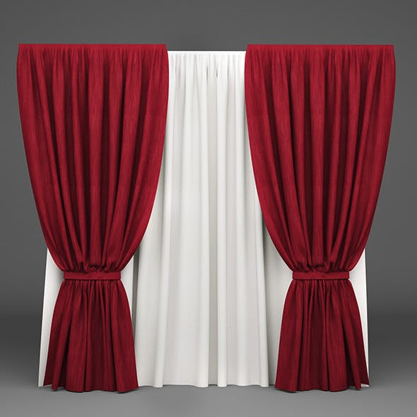 Curtain 04 - 3DOcean Item for Sale