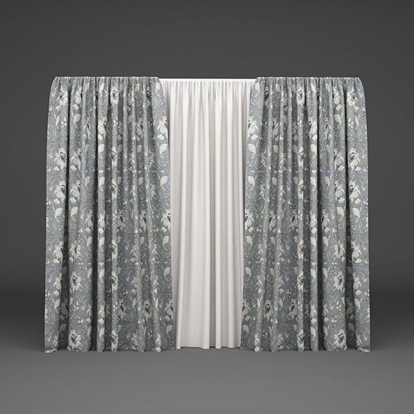Curtain02 - 3DOcean Item for Sale