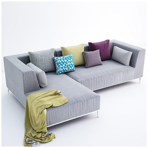 Velvet collection sofa