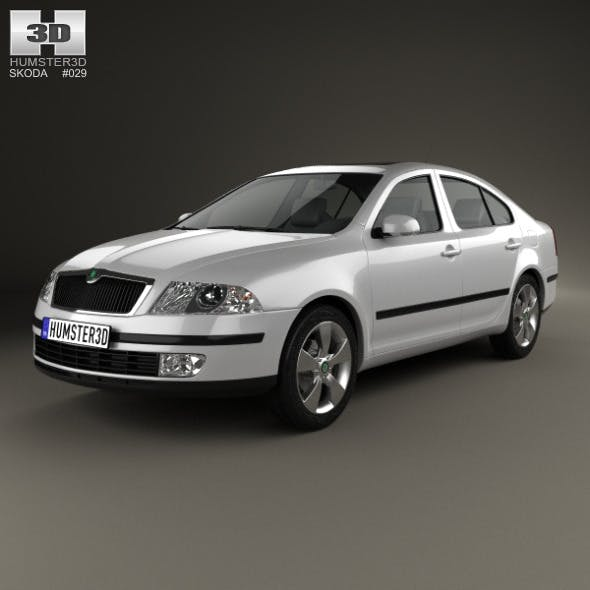 Skoda Octavia liftback 2005 - 3DOcean Item for Sale