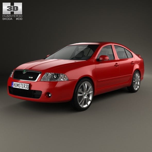 Skoda Octavia RS liftback 2005