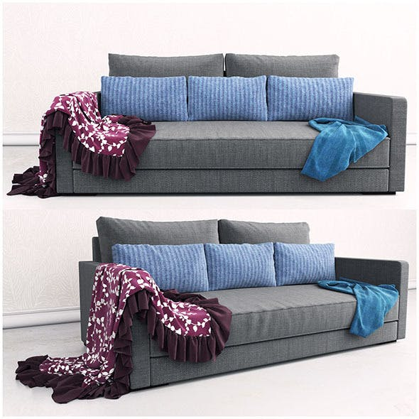 Sofa CHILL 02 - 3DOcean Item for Sale