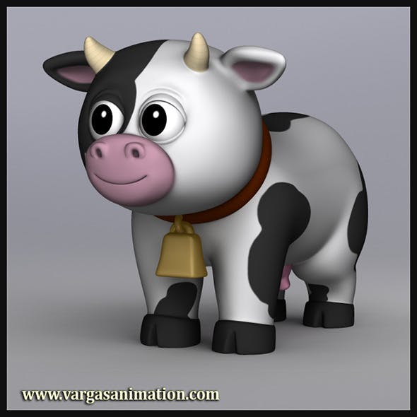 Cartoony Cow