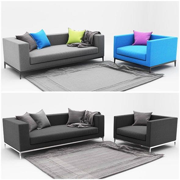 Sofa color - 3DOcean Item for Sale