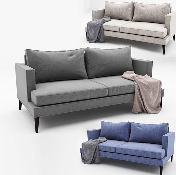 Spencer-Sofa - 3DOcean Item for Sale