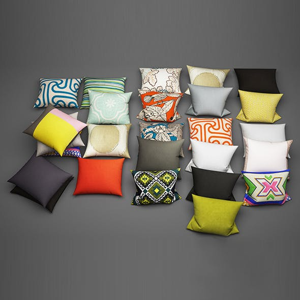 Pillows 27 - 3DOcean Item for Sale
