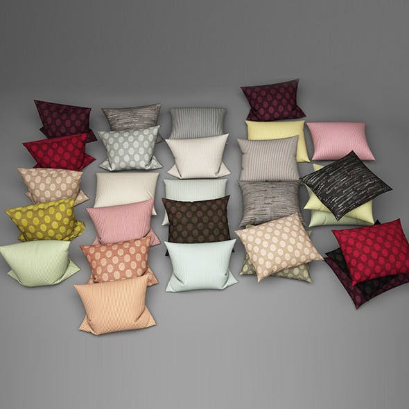 Pillows 26 - 3DOcean Item for Sale