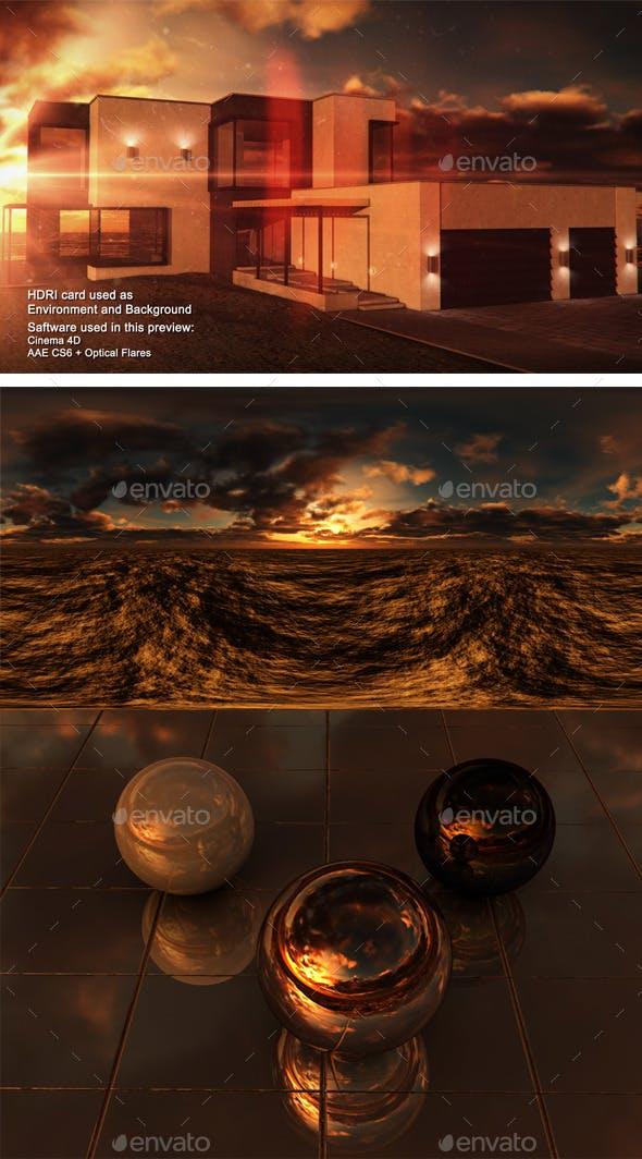 Sunset Desert 21 - 3DOcean Item for Sale