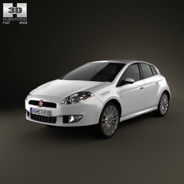Fiat Bravo 2011 - 3DOcean Item for Sale