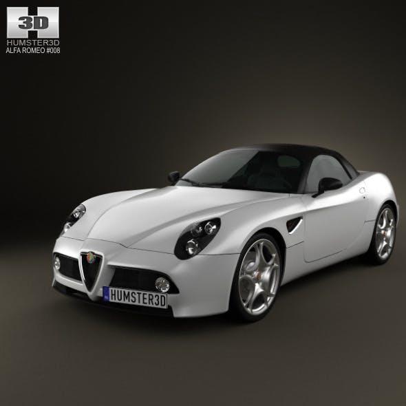 Alfa-Romeo 8c Spider 2011