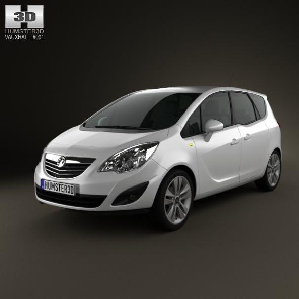 Vauxhall Meriva 2011 - 3DOcean Item for Sale