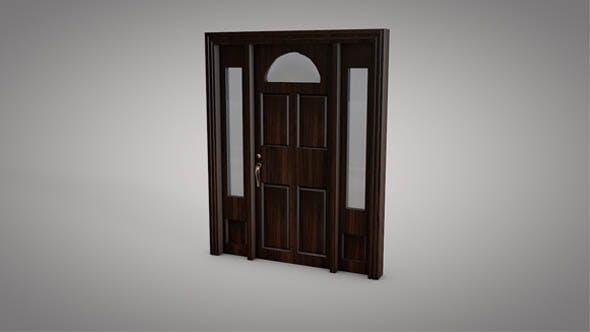 Gateway Door 03 - 3DOcean Item for Sale