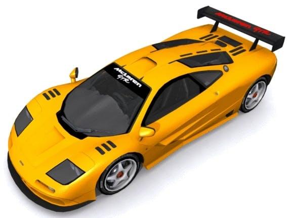 McLaren F1 GT-R - 3DOcean Item for Sale