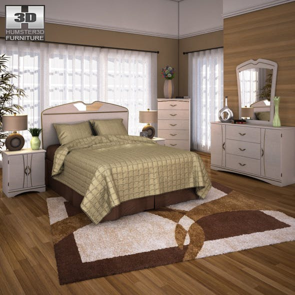 Ashley Havianna Panel Bedroom Set