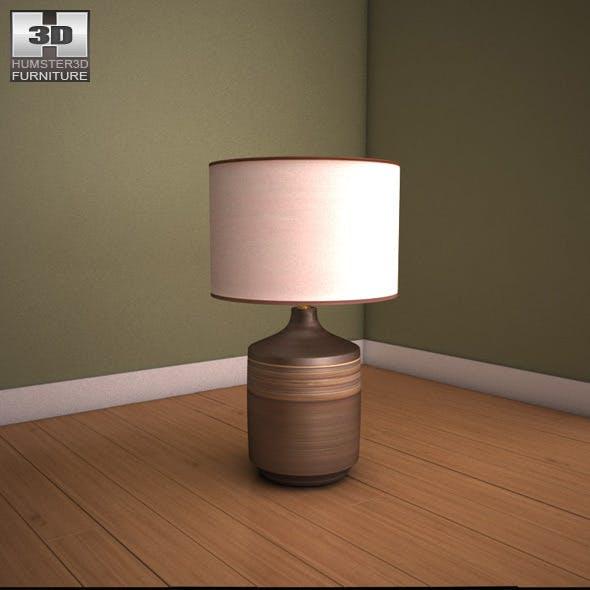 Ashley Karissa Table Lamp - 3D model. - 3DOcean Item for Sale