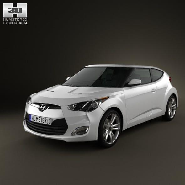 Hyundai Veloster 2012 - 3DOcean Item for Sale