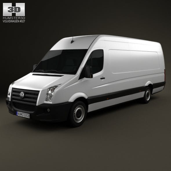 Volkswagen Crafter Extralong WB SHR 2011 - 3DOcean Item for Sale