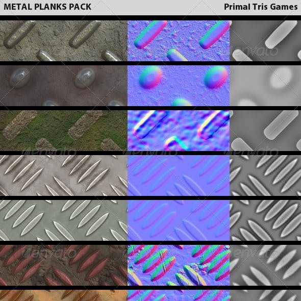 Metal Planks Pack