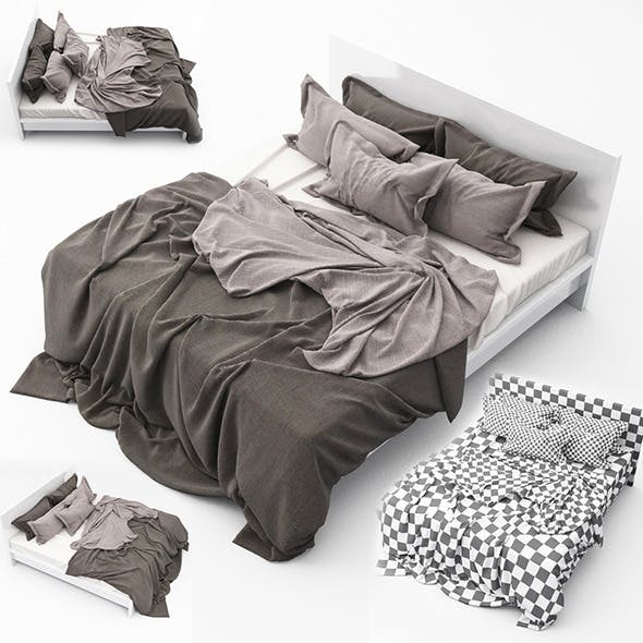 Bed 10 - 3DOcean Item for Sale