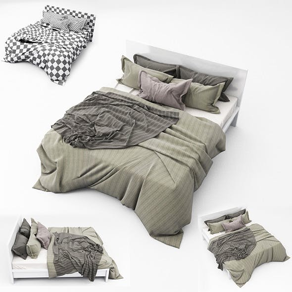Bed 11 - 3DOcean Item for Sale