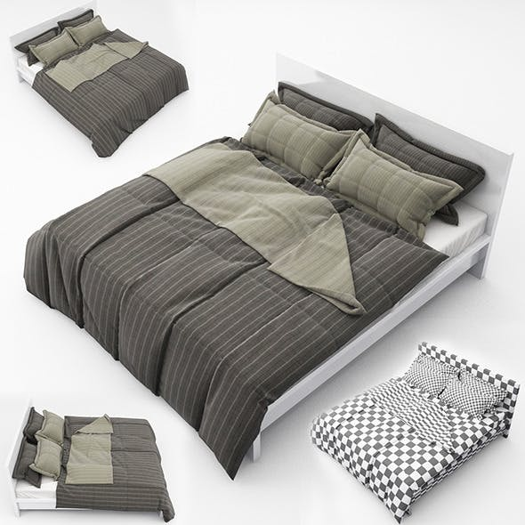 Bed05 - 3DOcean Item for Sale