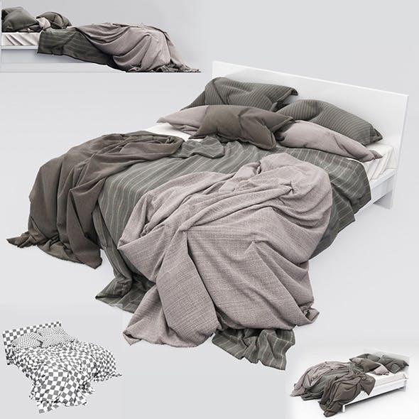 Bed 13 - 3DOcean Item for Sale