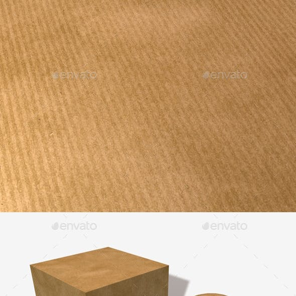 Striped Brown Paper Seamless Texture