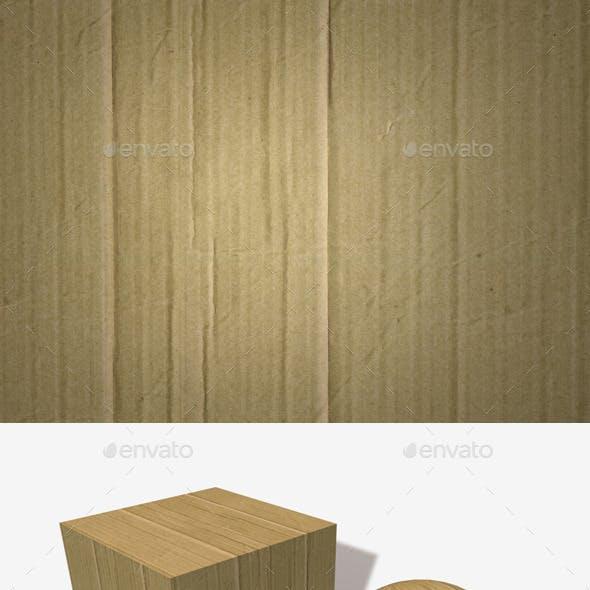 Crinkled Cardboard Seamless Texture
