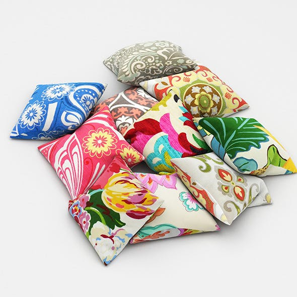 Pillows 45 - 3DOcean Item for Sale