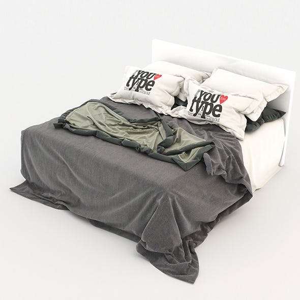 Bed 20 - 3DOcean Item for Sale