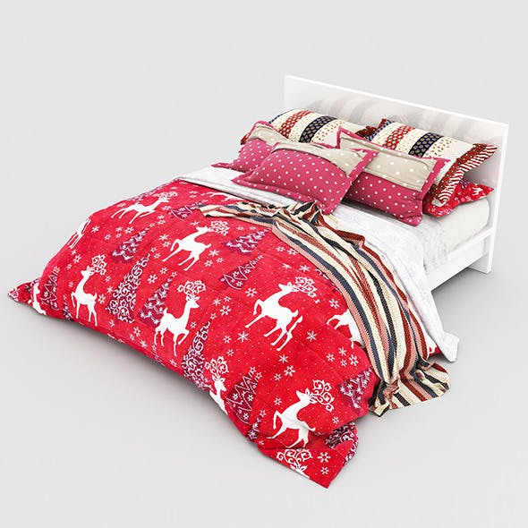 Bed Christmas