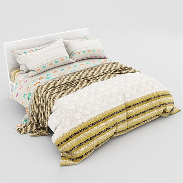 Bed 23 - 3DOcean Item for Sale