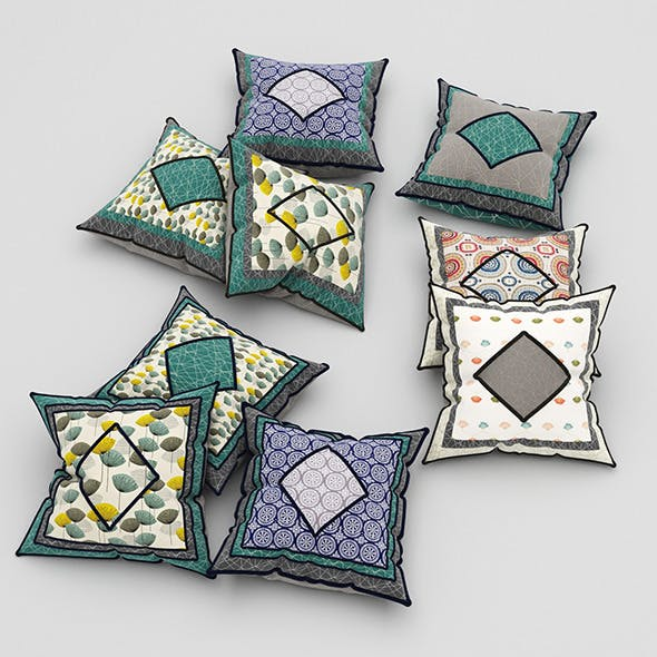 Pillows 47 - 3DOcean Item for Sale