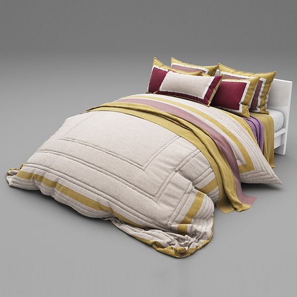 Bed 25 - 3DOcean Item for Sale