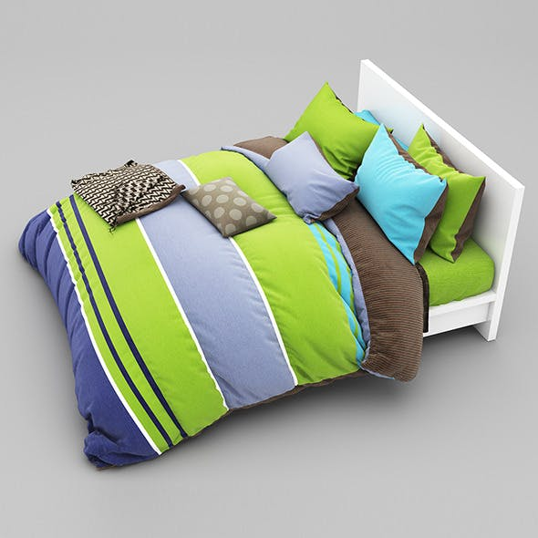 Bed 26 - 3DOcean Item for Sale