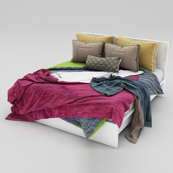Bed 28 - 3DOcean Item for Sale