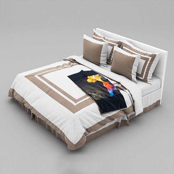 Bed 29 - 3DOcean Item for Sale