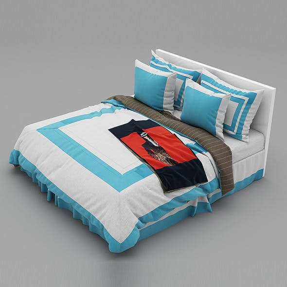 Bed 30 - 3DOcean Item for Sale