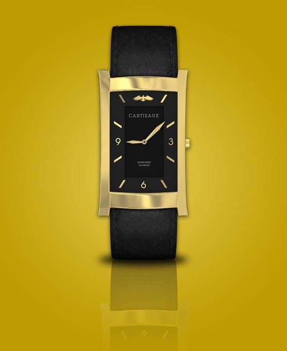 Cartier Watch - 3DOcean Item for Sale