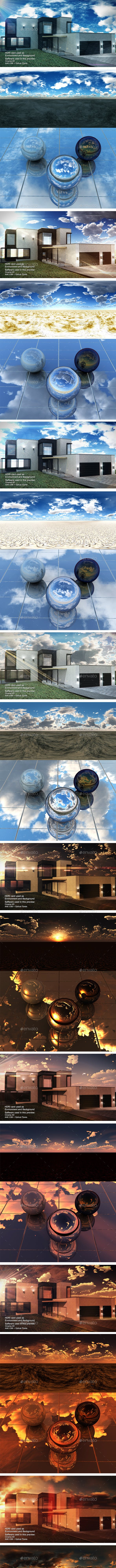 HDRI Pack - Desert vol3 - 3DOcean Item for Sale