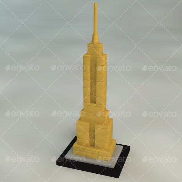 Empire State Building Brick