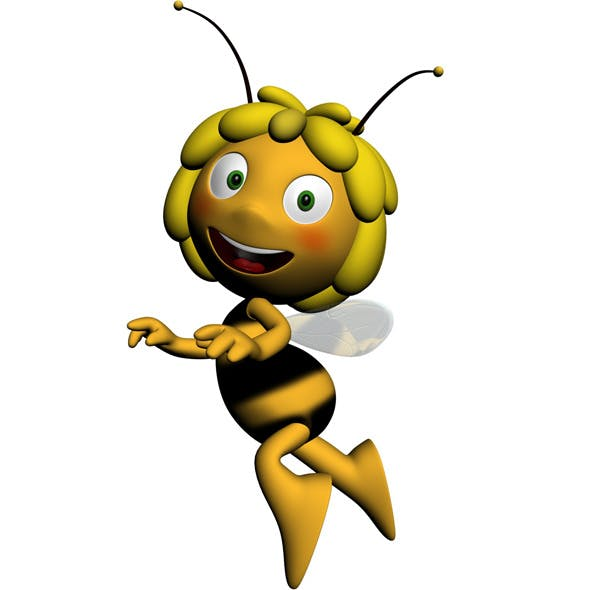 Maya the bee RIGGED - 3DOcean Item for Sale