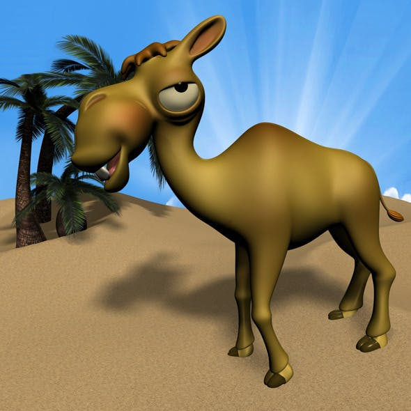 Cartoon Camel RIGGED