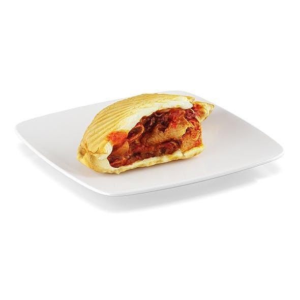 Bitten doner kebab - 3DOcean Item for Sale